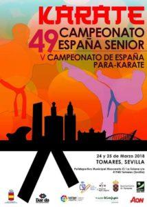 Campeonato España Absoluto. V Cpto de ParaKarate