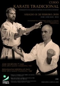 Cartel Curso Karate Rad 2020